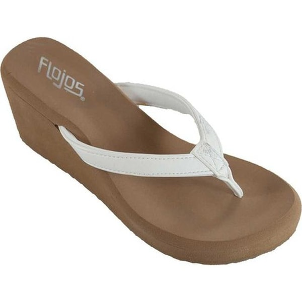 f29ffe7fc47d50 Shop Flojos Women s Olivia White - On Sale - Free Shipping On Orders Over   45 - Overstock - 20561567