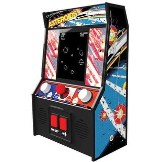 Retro Miniature Arcade Video Games - Asteroids - Multicolor