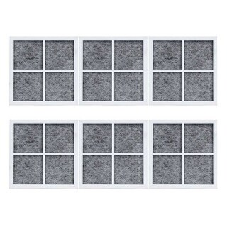 Replacement Air Filter Cartridge for LG LFCS31626S / LFX29927ST Refrigerator Models (6 Pack)