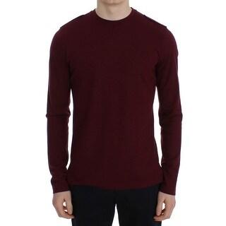 TOMMY HILFIGER TOMMY HILFIGER Bordeaux Wool Crewneck Sweater