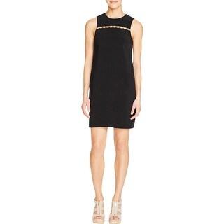 MICHAEL Michael Kors Womens Wear to Work Dress Cutout Embellished