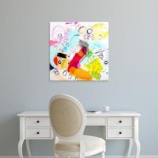 Easy Art Prints Serene Greene's 'Silver Lake Series #6' Premium Canvas Art