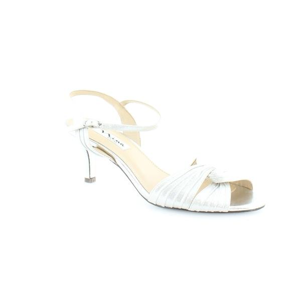 Nina Slingbacks Women's Heels Silver - 8.5