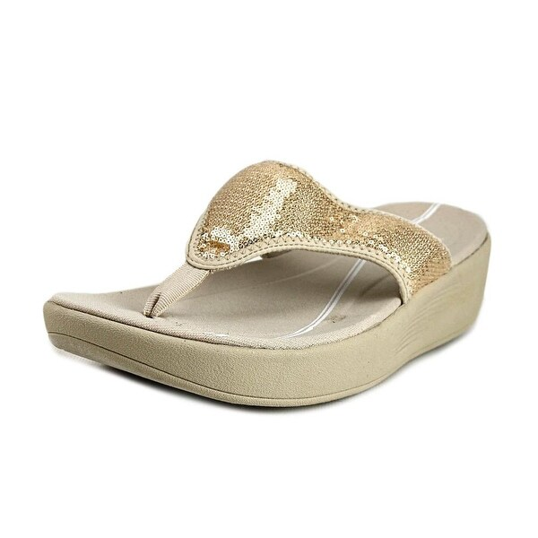 Easy Spirit e360 Boathook Gold Sandals