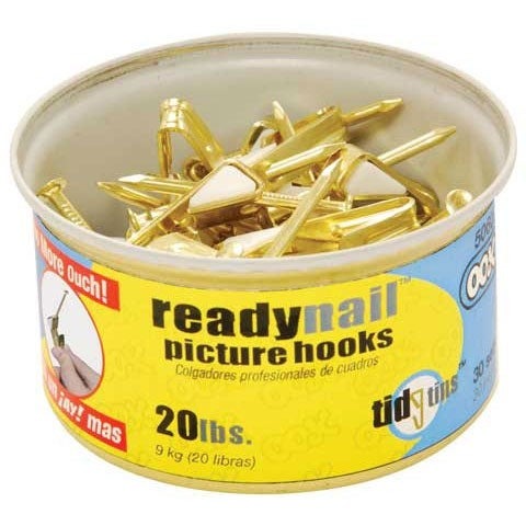 Ook - ReadyNail Picture Hanger Tidy Tins - 20 lbs.