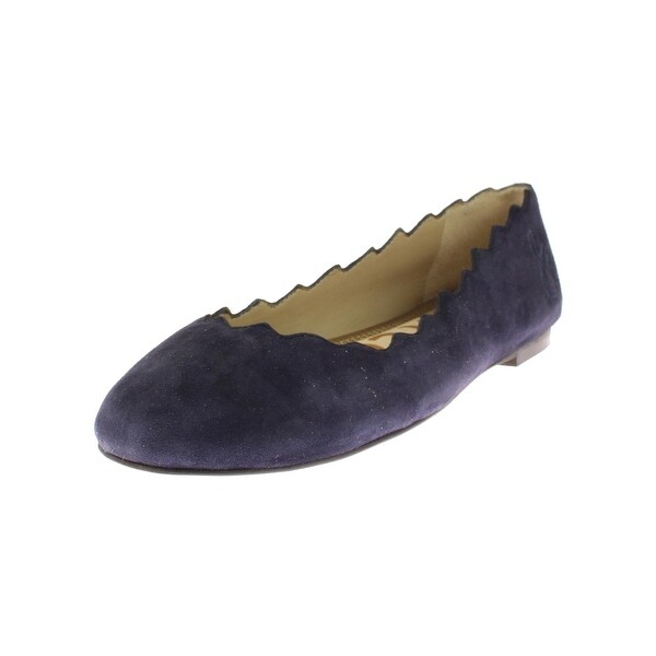 Sam Edelman Womens Francis Ballet Flats Scalloped