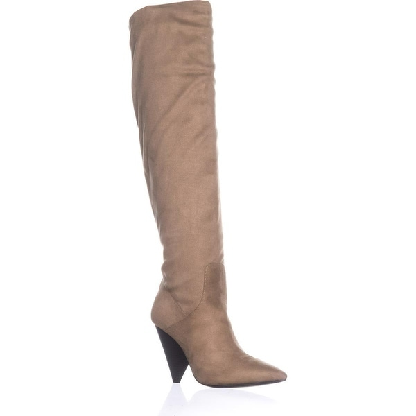 Indigo Rd. Fayen Pull On Over The Knee Boots, Medium Natural