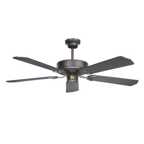 "Concord 52CH5 4 or 5 Blade Interchangeable 52"" Indoor Ceiling Fan with Blades Included from the California Home Collection"
