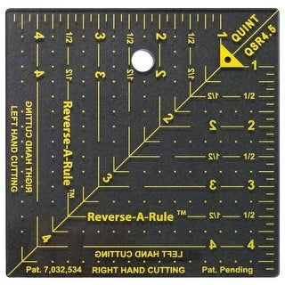 "Reverse-A-Rule Designer Series-4-1/2""X4-1/2"""
