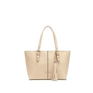 Carlos Falchi Womens Luana Shopper Handbag Textured Tote - LARGE