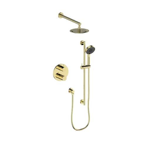 ZLINE Emerald Bay Thermostatic Shower System (EMBY-SHS-T2)