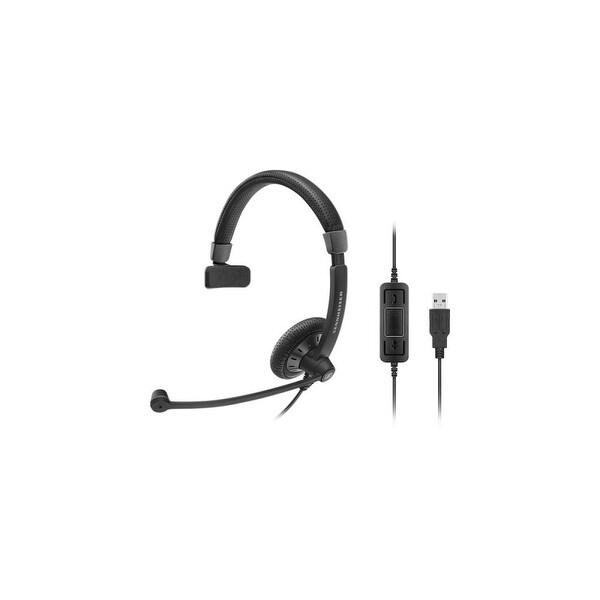Sennheiser 506498 Sennheiser Culture Plus SC 40 USB MS BLACK - Mono - Black - USB - Wired - 60 Hz - 16 kHz - Over-the-head -