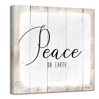 Link to Ready2HangArt 'Peace on Earth II' Holiday Canvas Wall Art by Olivia Rose Similar Items in Christmas Decorations