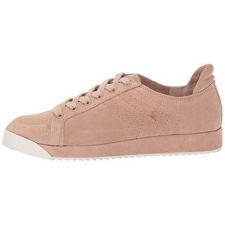 Dolce Vita Womens Sage Suede Low Top Lace Up Fashion Sneakers