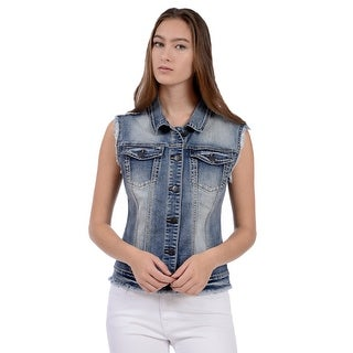 Lola Jeans Cardinal-LLB, Vest with lace back
