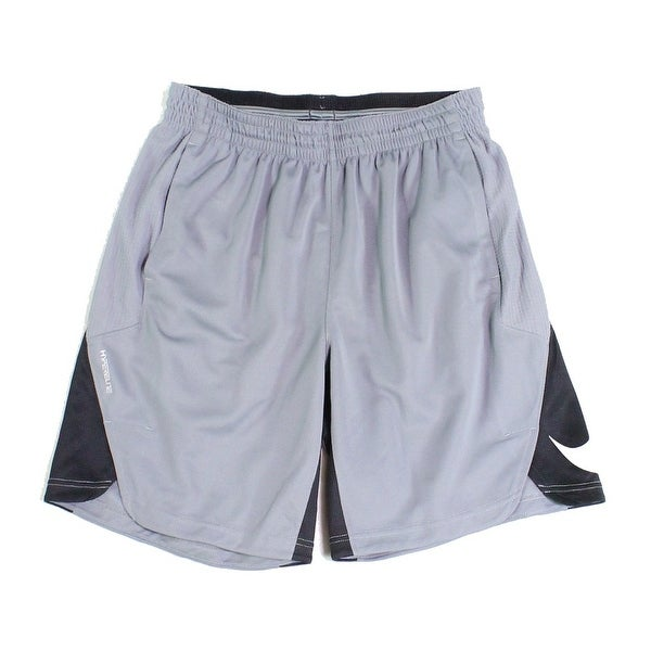 Nike NEW Gray Mens Size Large L Hyperlite Colorblocked Athletic Shorts