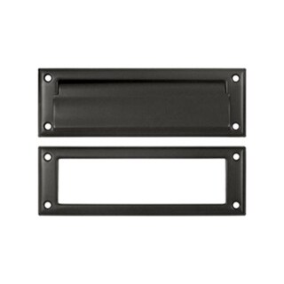 8.87 in. Mail Slot with Interior Frame #44; Oil Rubbed Bronze