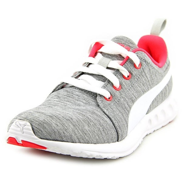68e084443f8e Shop Puma Carson Runner Women Round Toe Synthetic Gray Running Shoe ...