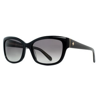 KATE SPADE Cat eye JOHANNA/S Women's JLQ/Y7 Shiny Black Gray Gradient Sunglasses - 53mm-17mm-135mm