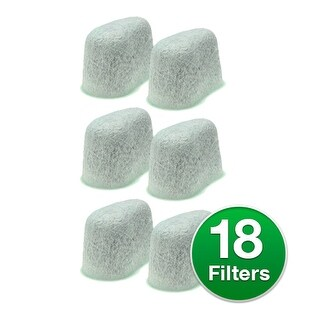 Replacement Water Filter For Krups KM5055 / KM5065 Coffee Machines (3 Pack)
