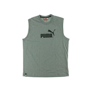 Puma Mens Jersey Printed Tank Top