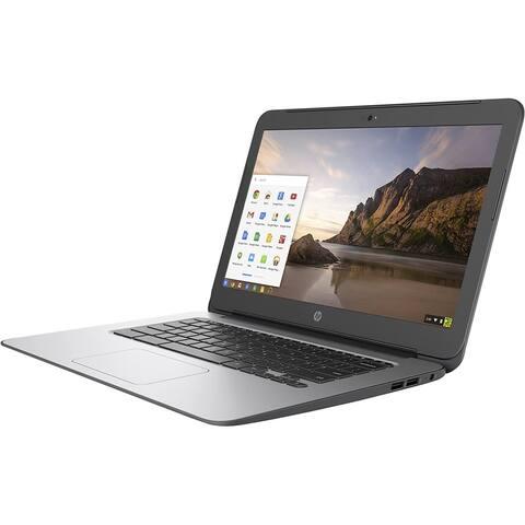 HP Chromebook T4M32UT Laptop Intel Celeron 4GB RAM 16GB SSD Chrome Grade B