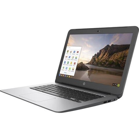 HP Chromebook T4M32UT Laptop Intel Celeron 4GB RAM 16GB SSD Chrome Webcam