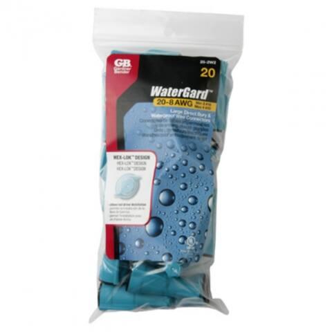Gardner Bender 25-2W2 Watergard Wire Connector, 20-8 AWG, 20-Pack