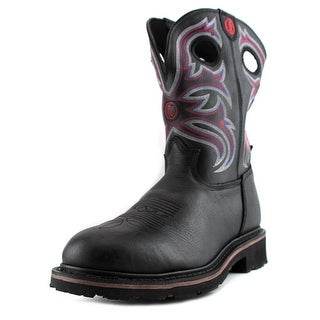 Tony Lama RR3209 Men Round Toe Leather Multi Color Western Boot