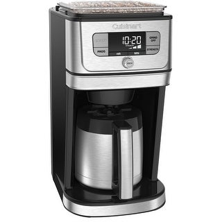 Cuisinart Fully Automatic Burr Grind and Brew Thermal Coffeemaker (10 Cup)