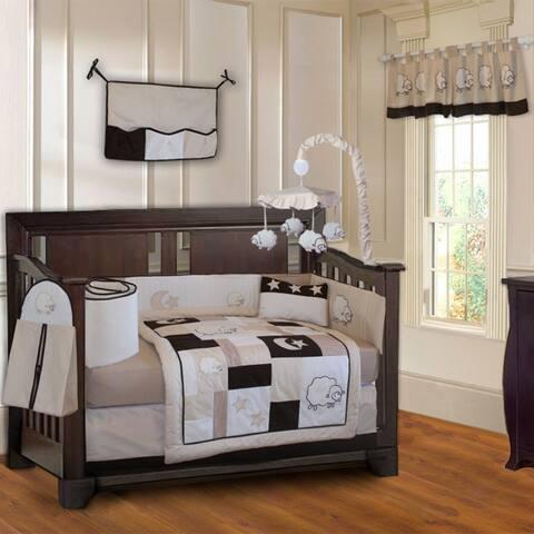 BabyFad Sheep 10 piece Crib Bedding Set