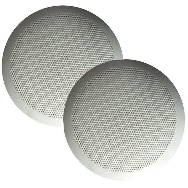 "Majestic Global USA SPK50 Ultra Slim 5"" Speakers 30W - White Pair - SPK50"