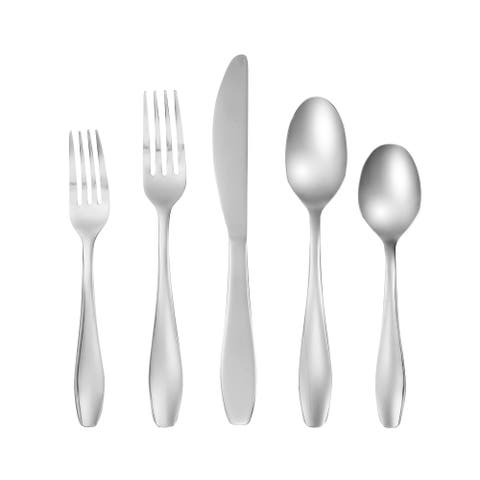Cambridge Silversmiths Grady Mirror 18/0 51 Piece Flatware Set, Service for 8 - 51 Piece