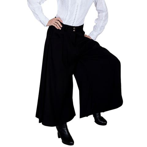 Scully Western Skirt Womens Old West Rangewear Long Split