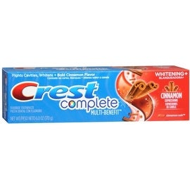 Crest Whitening Expressions Toothpaste Cinnamon Rush 6 oz