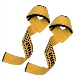 Weight Lifting Bar Straps Gym Bodybuilding Wrist Support Wraps Bandage LG-7