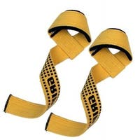 Weight Lifting Bar Straps Gym Bodybuilding Wrist Support Wraps Bandage LG-7