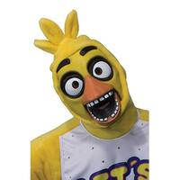 Five Nights at Freddy's Chica Costume 3/4 Mask Adult Standard - as shown