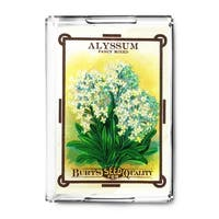 Alyssum - Vintage Seed Packet (Acrylic Serving Tray)