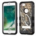 Insten Yellow/ Black Vines Tuff Hard PC/ Silicone Dual Layer Hybrid Rubberized Matte Case Cover with Stand For Apple iPhone 7 - Thumbnail 0