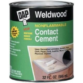 Dap 25336 Weldwood Nonflammable Contact Cement, 1 Gallon