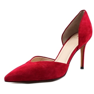 Marc Fisher Tammy Women Pointed Toe Suede Red Heels