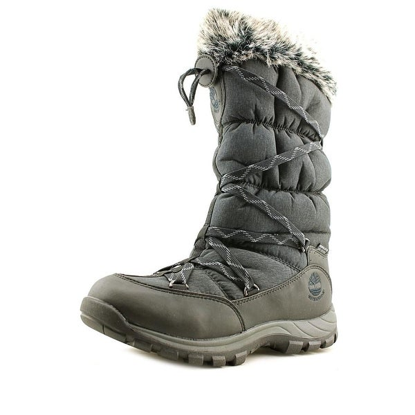 Timberland Over The Chill   Round Toe Canvas  Snow Boot