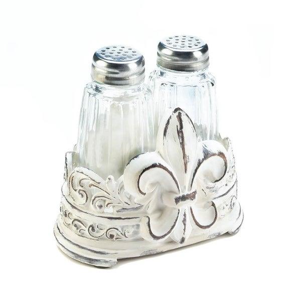 Fleur-De-Lis S&P Holder Set