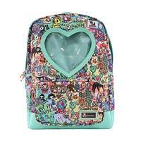 Tokidoki California Dreamin' Heart Window Backpack - One Size Fits most
