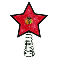 Chicago Blackhawks Mosaic Tree Topper