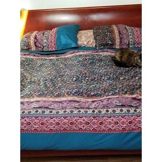 Superior Rosewood 300 Thread Count 3-piece Cotton Duvet Cover Set