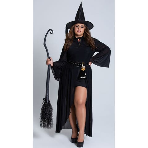 Plus Size You Goth It Witch Costume - As Shown