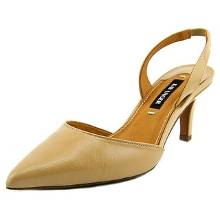 Kay Unger Baylee   Pointed Toe Patent Leather  Slingback Heel
