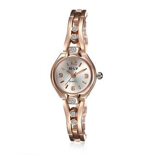 18K Rose Gold Abstract Curved Watch